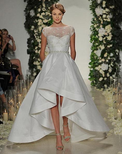 Весільну сукню короткий спереду фото - Anne Barge