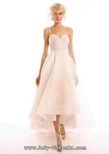 Весільну сукню короткий спереду 2016 - Eugenia Couture
