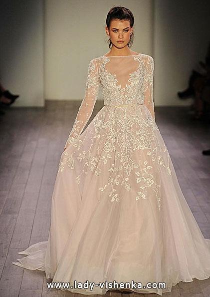 Весільні сукні з мереживними рукавами 2016 - Hayley Paige