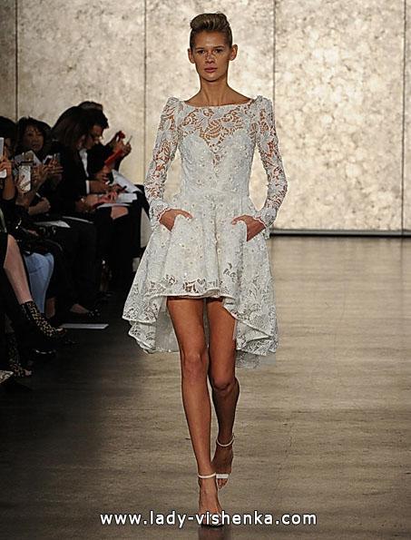 Весільні сукні з мереживними рукавами - Inbal Dror