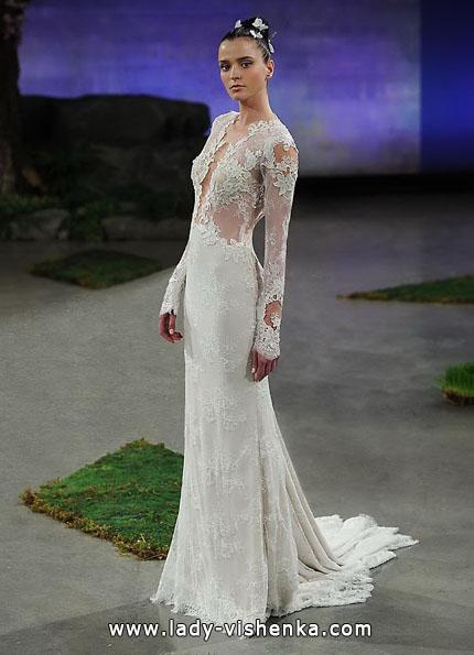 Весільні сукні з мереживними рукавами - Ines Di Santo