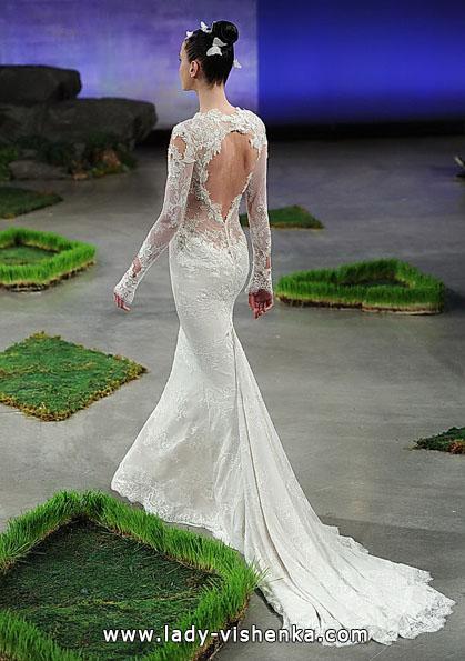 Весільні сукні з мереживними рукавами 2016 - Ines Di Santo
