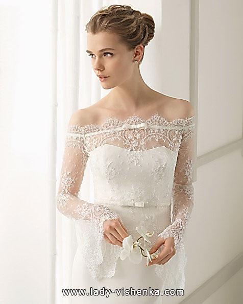 Весільні сукні з мереживними рукавами - Aire Barcelona