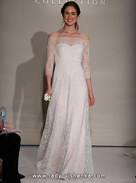 Весільні сукні з мереживними рукавами 2016 - Jenny Yoo