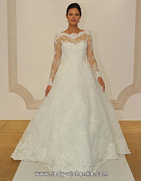 Весільні сукні з мереживними рукавами - Judd Waddell