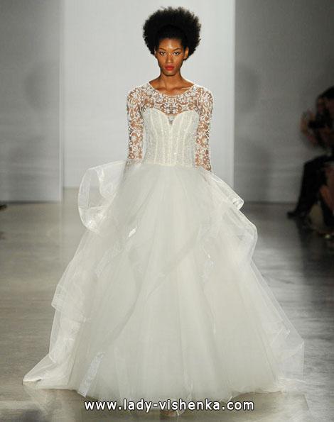 Весільні сукні з мереживними рукавами - Kenneth Pool