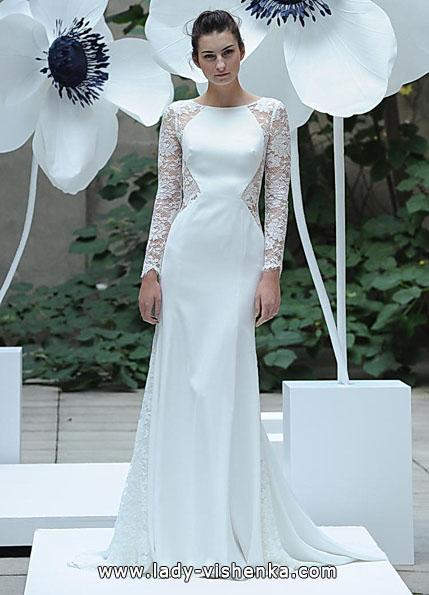 Весільні сукні з мереживними рукавами - Lela Rose