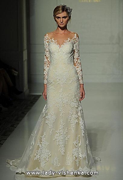 Весільні сукні з мереживними рукавами - Pronovias