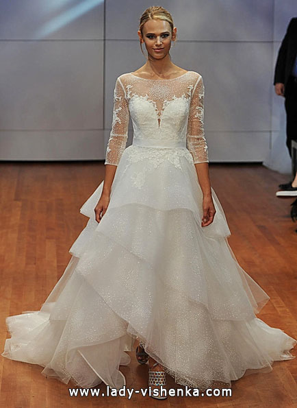 Весільні сукні з мереживними рукавами - Rita Vinieris