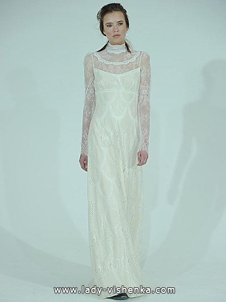 Весільні сукні з мереживними рукавами 2016 - Claire Pettibone