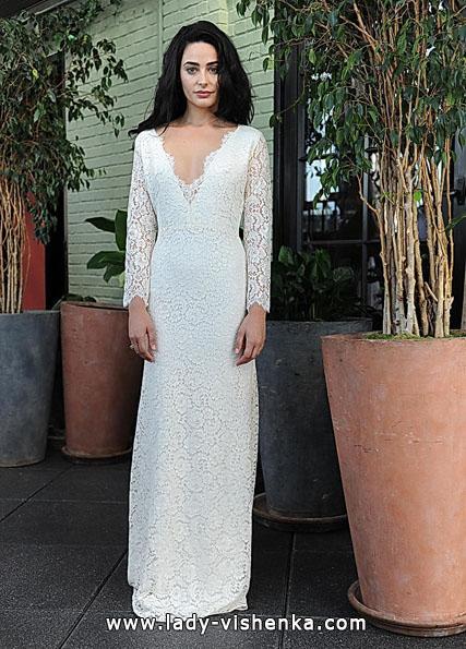 Весільні сукні з мереживними рукавами - Sarah Seven