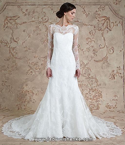 Мереживні весільні сукні з довгим рукавом - Sareh Nouri
