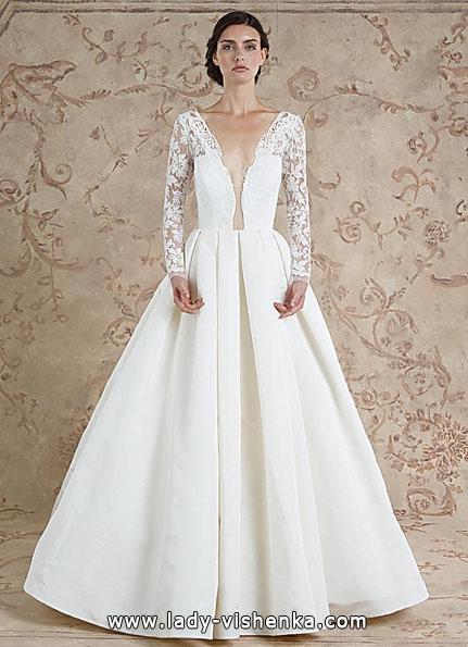Весільні сукні з мереживними рукавами 2016 - Sareh Nouri