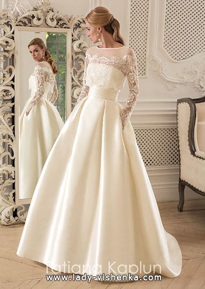 Весільні сукні з мереживними рукавами - Tatiana Kaplun