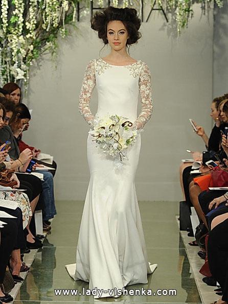 Весільні сукні з мереживними рукавами - Theia