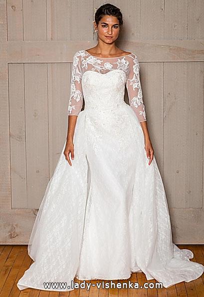 Весільні сукні з мереживними рукавами - David's Bridal