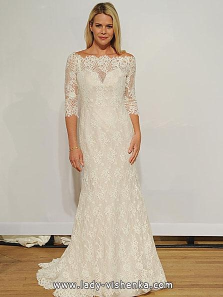 Весільні сукні з мереживними рукавами - Addy K