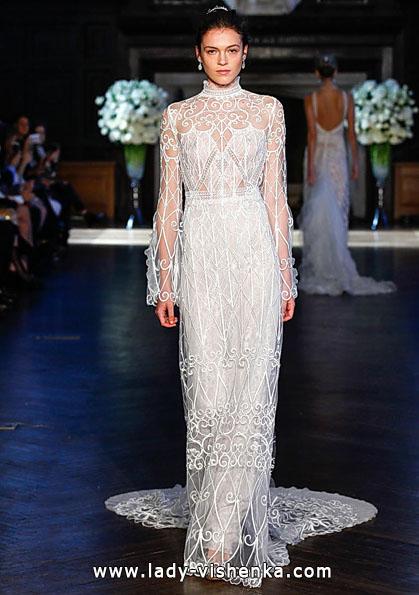 Весільні сукні з мереживними рукавами - Alon Livne