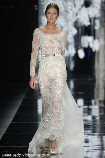 Прозорі весільні сукні YolanCris