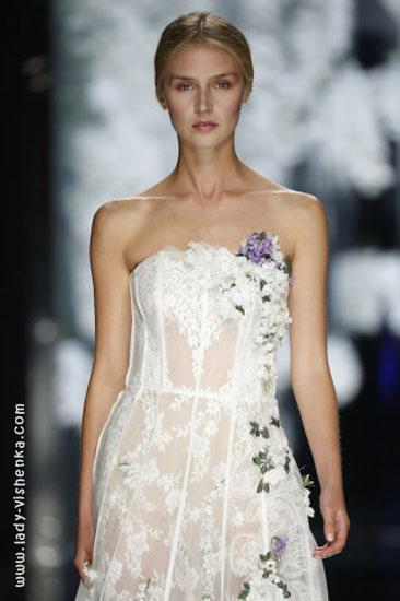 Модні весільні сукні YolanCris