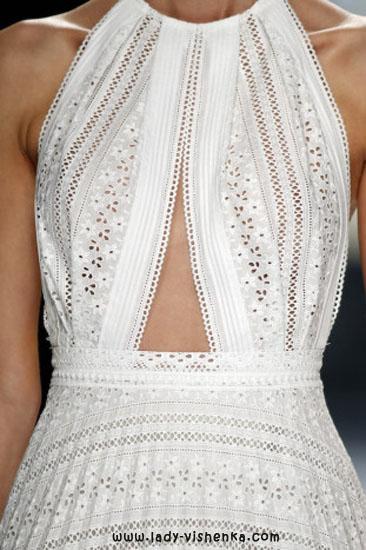 Верх простого весільного плаття YolanCris