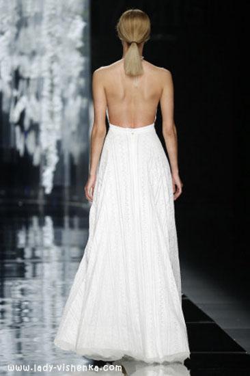 Довгі весільні сукні YolanCris