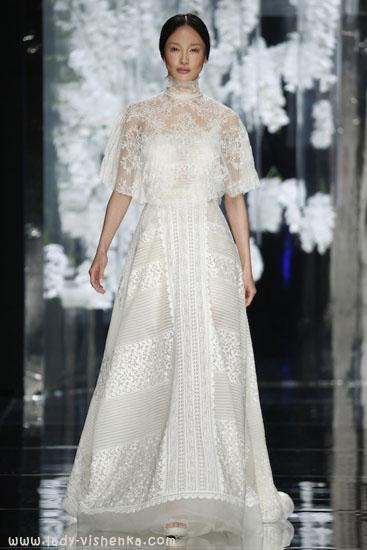 Накидка на весільну сукню YolanCris