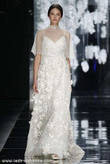Накидка весільну сукню 2016 YolanCris