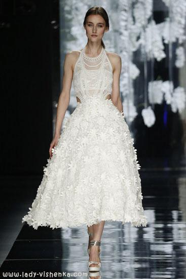 Короткі весільні сукні фото YolanCris