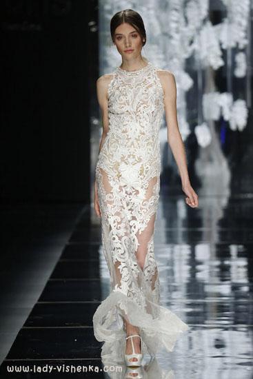 Просте відкрите весільну сукню YolanCris