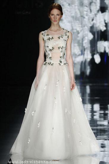 Красиві весільні сукні фото YolanCris