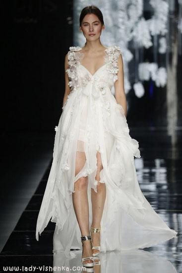 Коротокие весільні сукні YolanCris
